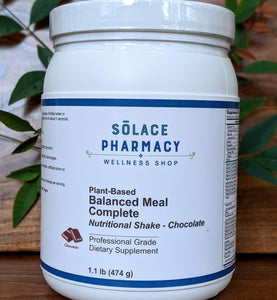 Plant-Based Balanced Meal Complete Protein Powder - Chocolate