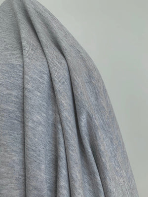 Organic Cotton Jersey - Grey Marle $18/m