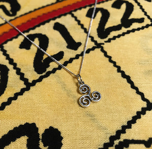 Triskelion Necklace