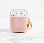 Matte Pink Biodegradable AirPods Case