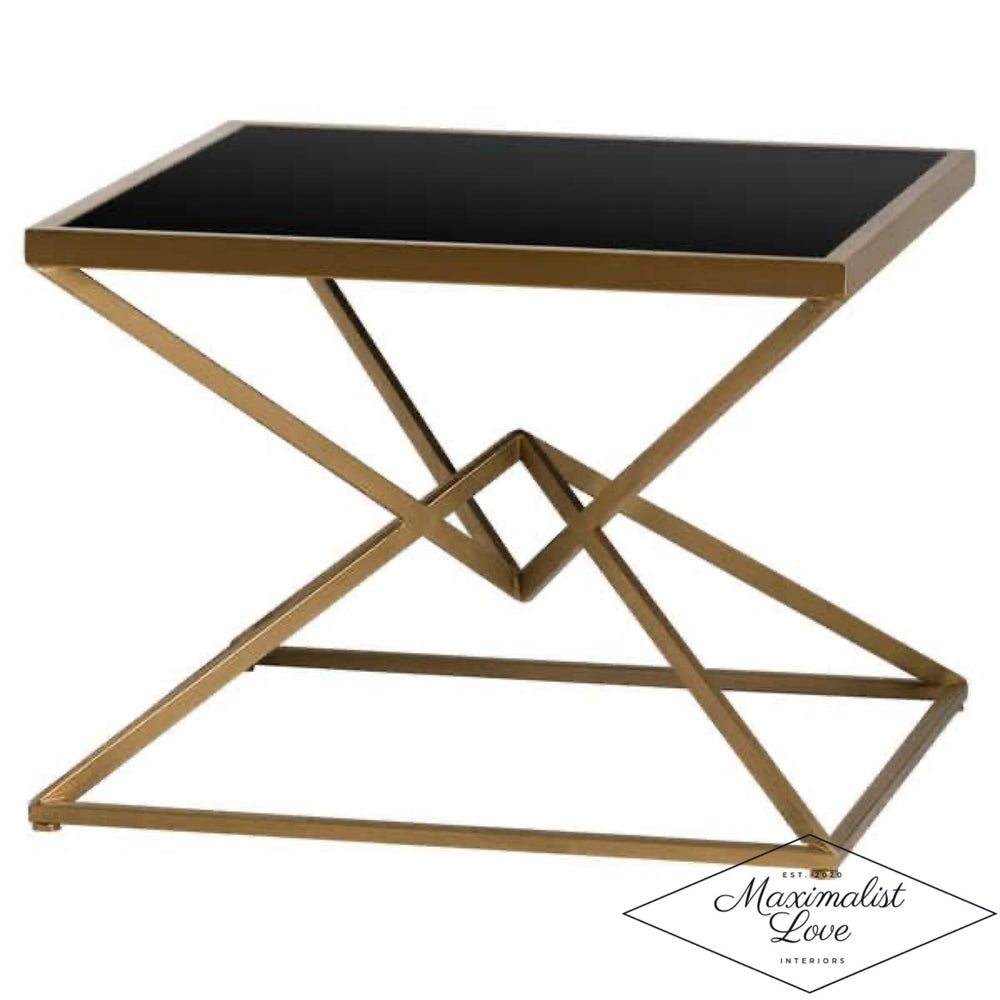 Geometric Side Table-Maximalist Love-Maximalist Love