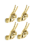 Peace Sign Wall Hooks PRE ORDER-Decor-Maximalist Love-Maximalist Love