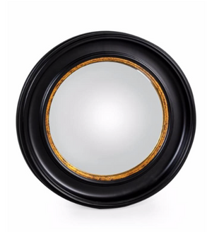 Load image into Gallery viewer, Large Black Convex Mirror-Mirrors-Maximalist Love-Maximalist Love