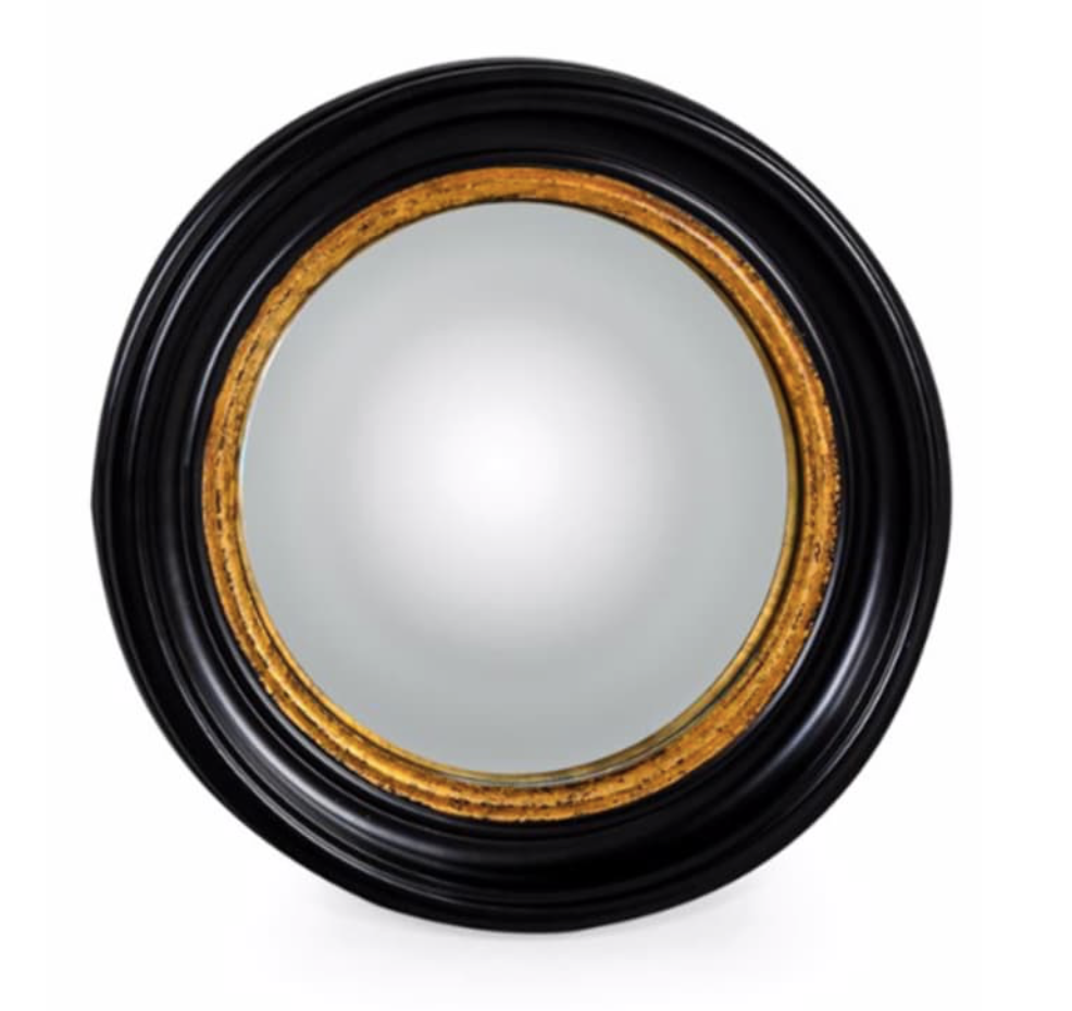 Medium Black Convex Mirror-Mirrors-Maximalist Love-Maximalist Love