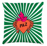 Hand Embroidered PAZ Cushion-Decor-Maximalist Love-Maximalist Love