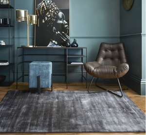 Load image into Gallery viewer, Hand Woven Golden Era Rug-Rugs-Maximalist Love-Slate Grey-Maximalist Love
