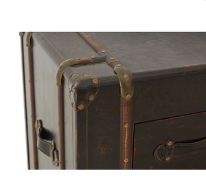 Load image into Gallery viewer, Slim Vintage style Trunk-Cabinets, Sideboards-Maximalist Love-Maximalist Love