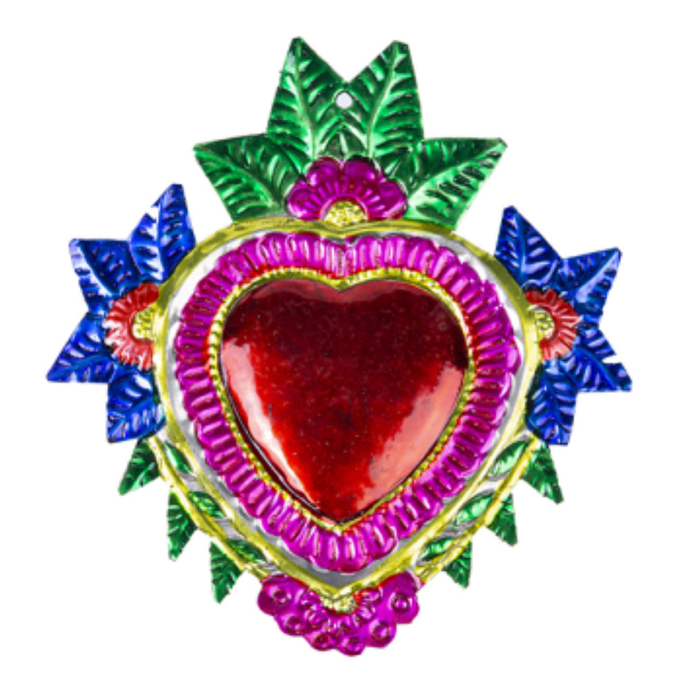 Tin Heart wall decor-Maximalist Love-Maximalist Love