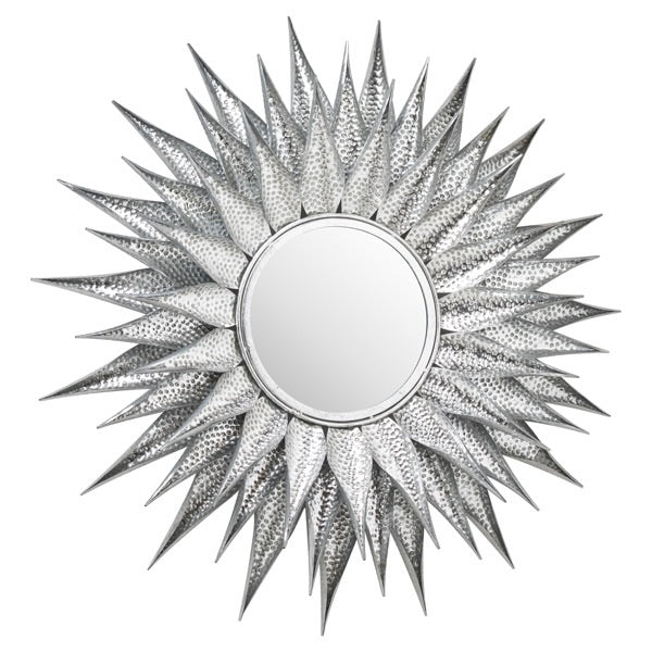 Load image into Gallery viewer, Starburst Large wall mirror Silver-Maximalist Love-Maximalist Love
