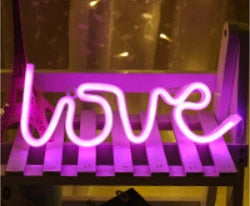 Load image into Gallery viewer, Neon Signs Handcrafted to order-Lighting-Maximalist Love-mini love (sold out)-UK plug-Maximalist Love