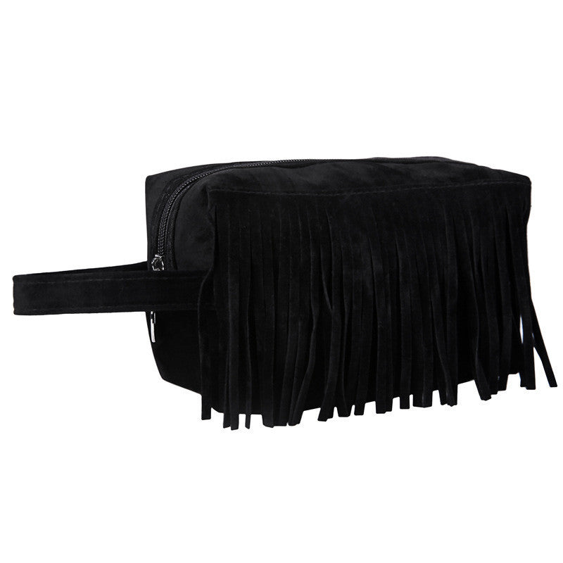 Fringed Makeup Bag