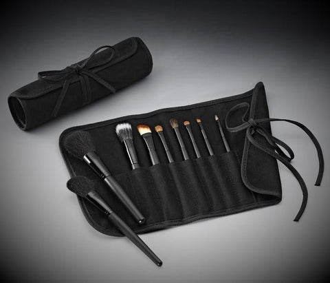 Sig-PRO Brush Set with Roll & Tie Pouch (9-Piece)