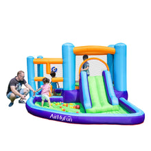 Load image into Gallery viewer, Bouncy Castle with Slide and Pool