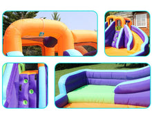 Load image into Gallery viewer, Double-Slide Inflatable Water Park