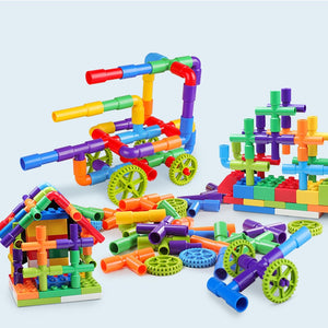 Water Pipe Building Blocks
