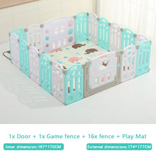 Load image into Gallery viewer, Fold-able Expandable Playpen - 18 Piece Set
