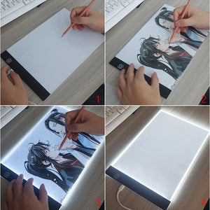 Dimmable LED Drawing Pad