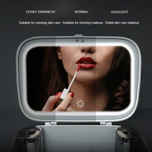 Load image into Gallery viewer, Makeup Organizer With Mirror LED light