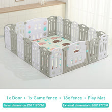Load image into Gallery viewer, Fold-able Expandable Playpen - 20 Piece Set