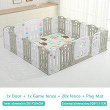 Load image into Gallery viewer, Fold-able Expandable Playpen - 22 Piece Set