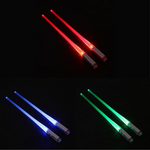 LED Lightsaber Chopsticks (SET of 3 COLORS)