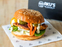 Load image into Gallery viewer, AKU'S DiY Chicken Burger Kit