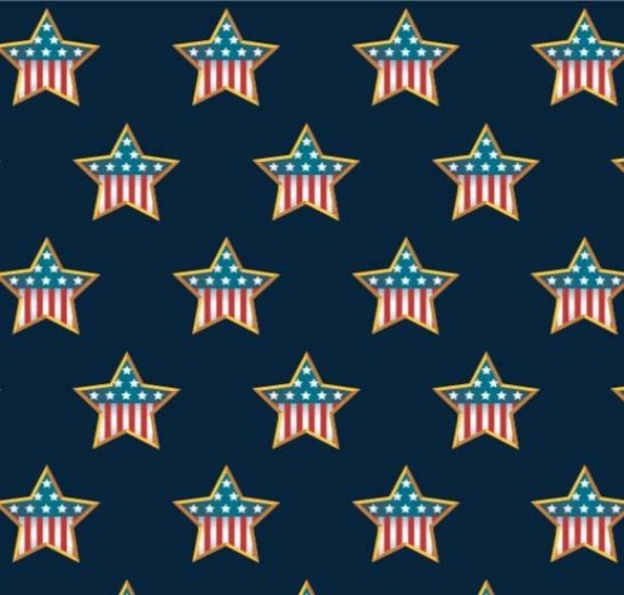 In Memory Of Navy on minky fabric by ez fabric