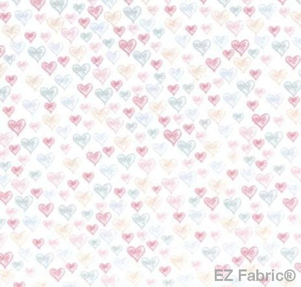 Heart of a Dancer on Minky Fabric by EZ Fabric