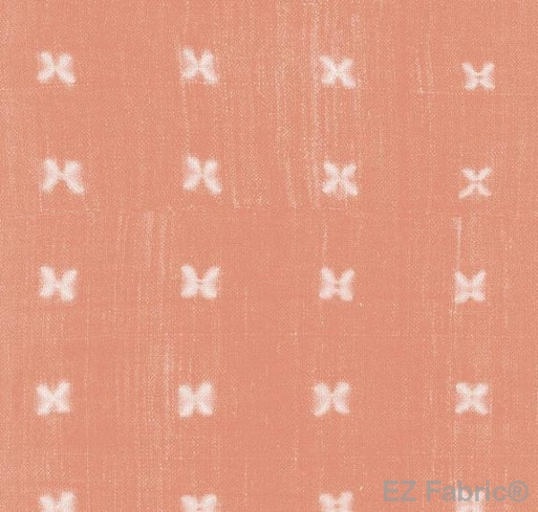 Mabel Blush Mud Cloth Print on Minky Fabric by EZ Fabric