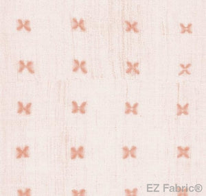 Mabel Shell Mud Cloth Print on Minky Fabric by EZ Fabric