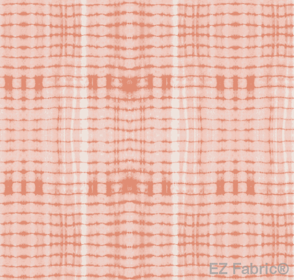 Nia Blush Mudcloth Print on Minky Fabric by EZ Fabric