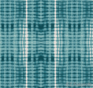 Nia Teal Mudcloth Print on Minky Fabric by EZ Fabric
