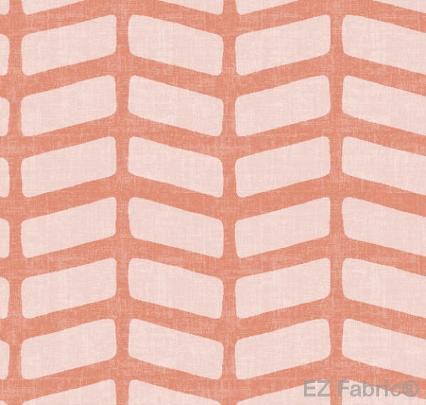 Sade Blush Mud Cloth Print on Minky Fabric by EZ Fabric