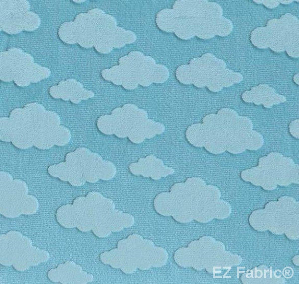 Cloud Embossed Snuggle by EZ Fabric