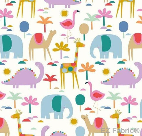 Sunny Daze on Minky by EZ Fabric