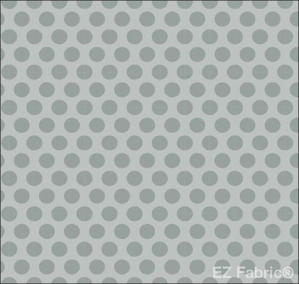 Two Tone Grey Blue  Print Minky By EZ Fabric