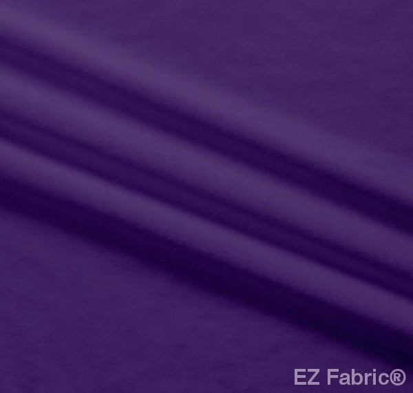 Silky Minky Smooth Bright Purple  by EZ Fabric