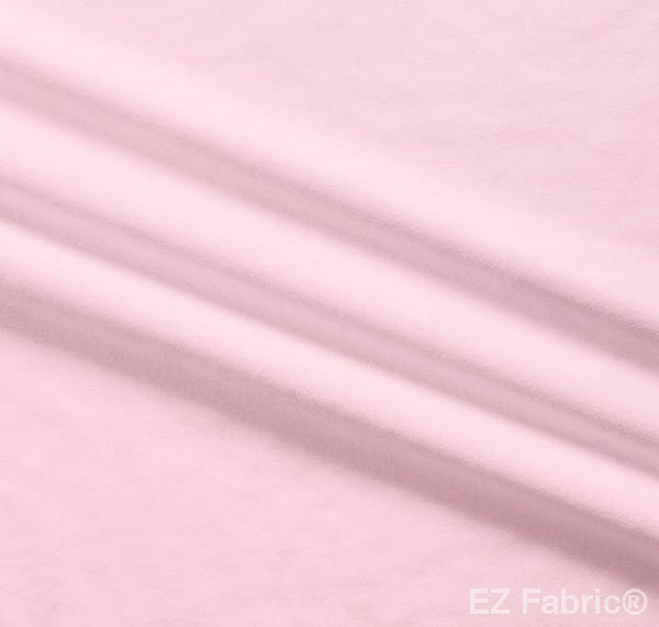 Silky Minky Smooth Candy Pink by EZ Fabric