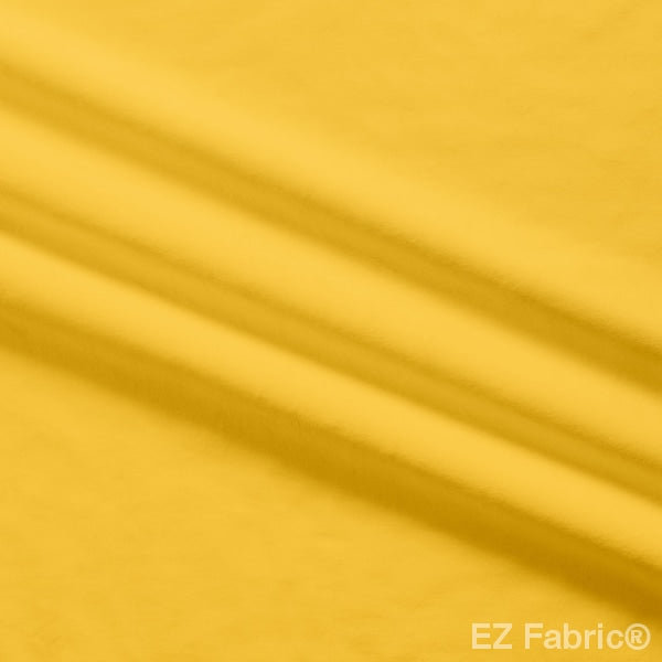 Solid Silky Minky Smooth Mango Yellow