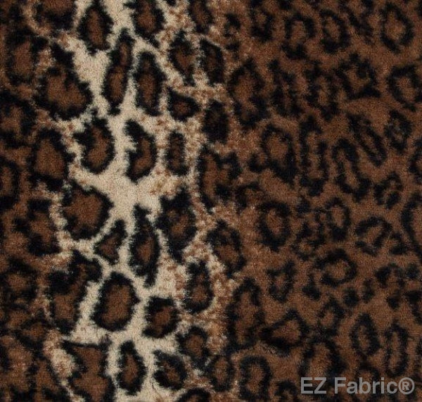 Wild Leopard Snuggle by EZ Fabric