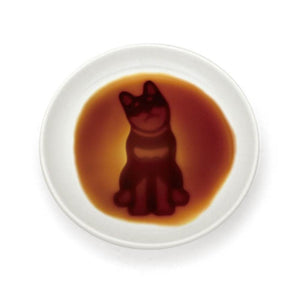 "[NEW] Alta Sitting Dog Soy Sauce Dish 3.54"" dia"