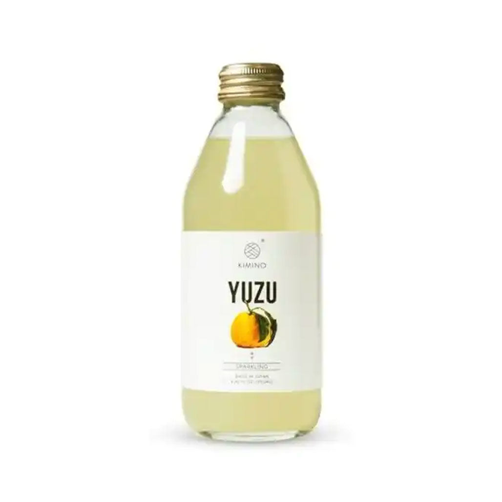 Kimino Sparkling Yuzu Citrus Juice 8.45 fl oz (250ml) x 24 bottles