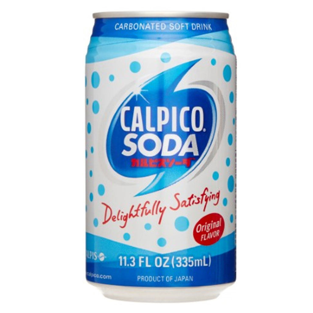 Calpico Soda 11.8 fl oz (350ml) x 24 cans