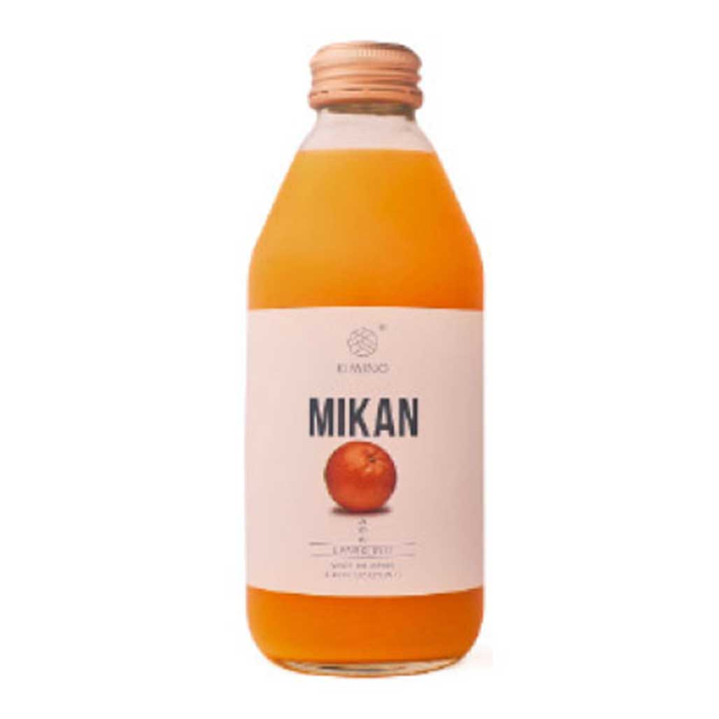Kimino Sparkling Mikan Mandarin Orange Juice 8.45 fl oz (250ml) x 24 bottles Japanese Grocery Delivery to NJ NJ