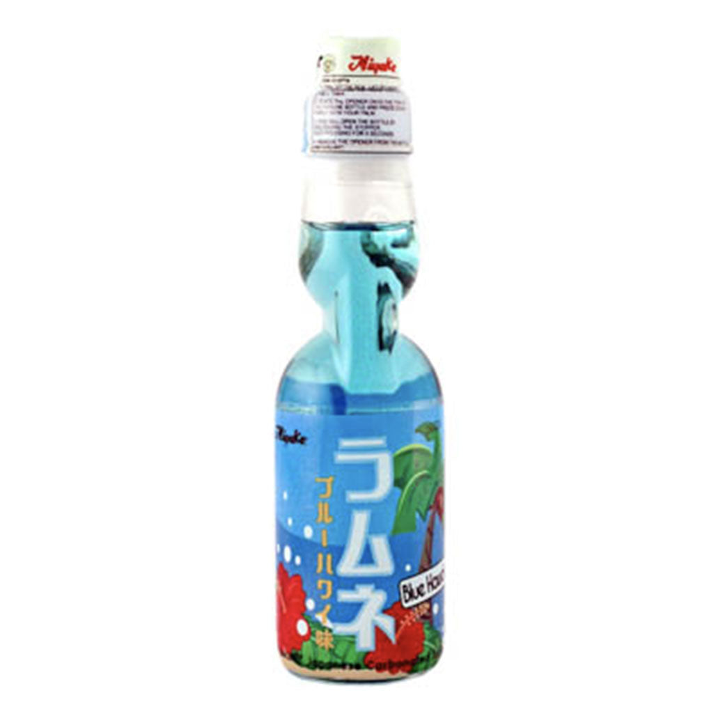 Miyako Ramune Blue Hawaii Flavored Soda 6.76 fl oz (200ml) x 30 bottles