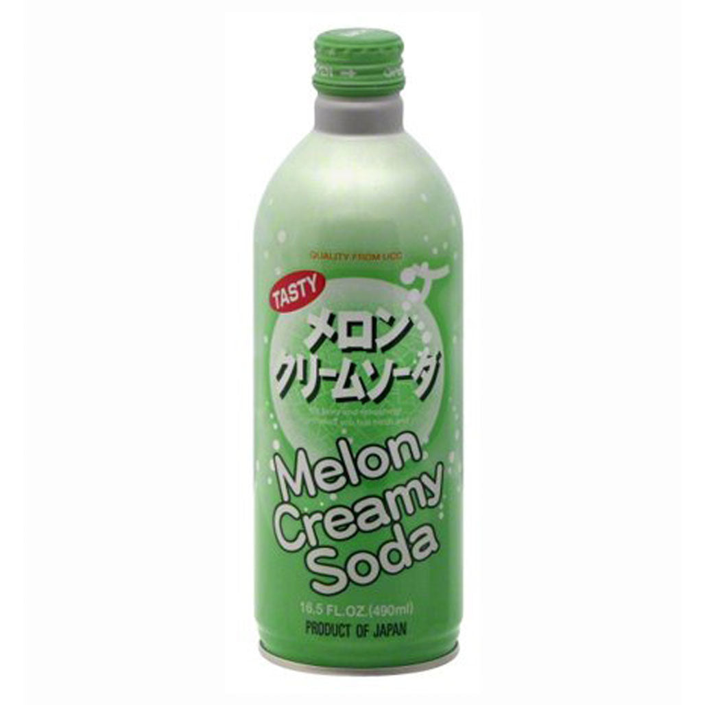 UCC Melon Cream Soda 16.5  fl oz (490ml) x 24 bottles