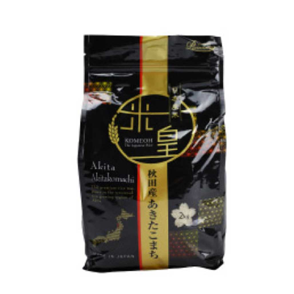 Komeoh Akita Komachi Short Grain White Rice  Japanese Grocery Delivery to NY NJ