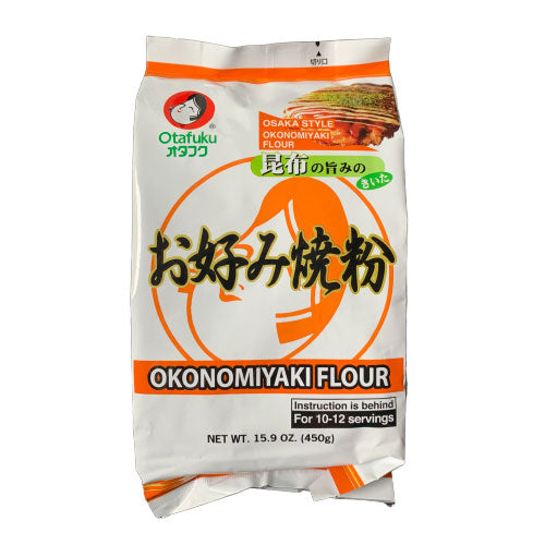 Otafuku Okonomiyaki Flour Mix 15.9 oz (450g) Japanese Grocery Deliver to NY NJ