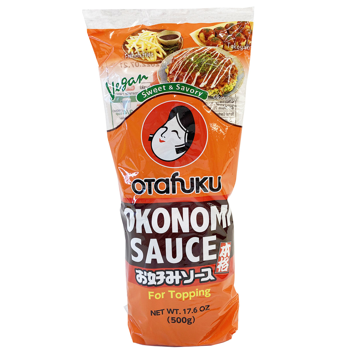 Otafuku Vegan Okonomiyaki Sauce 17.6 oz / 500g Japanese Grocery Deliver to NY NJ