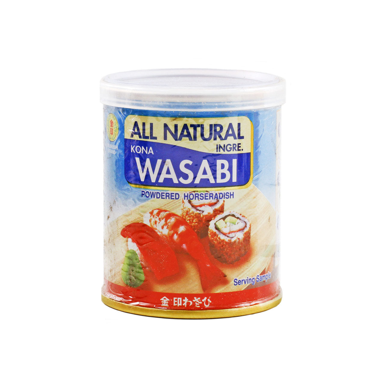 Kinjirushi All Natural Wasabi Powder Japanese Horseradish 1.76oz / 50g